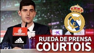 La primera rueda de prensa de Courtois con el Madrid | Diario AS