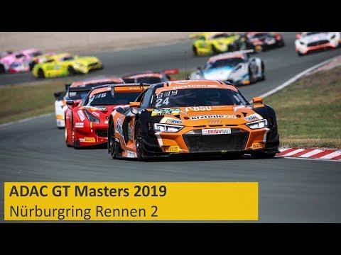 ADAC GT Masters Rennen 2 Nürburgring 2019 Re-Live Deutsch
