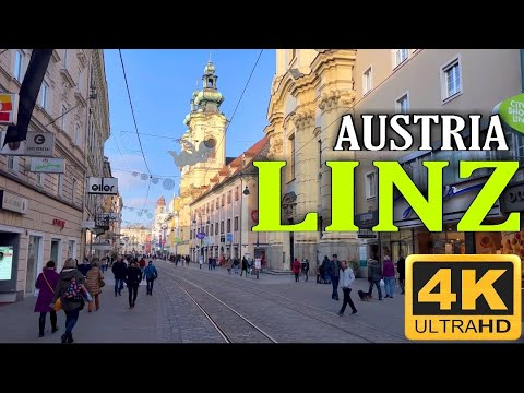 LINZ AUSTRIA - After Lockdown 4K UHD