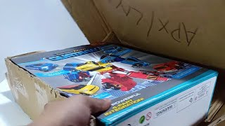 Unboxing Mainan Tobot C D R W Toys Cars Transformers