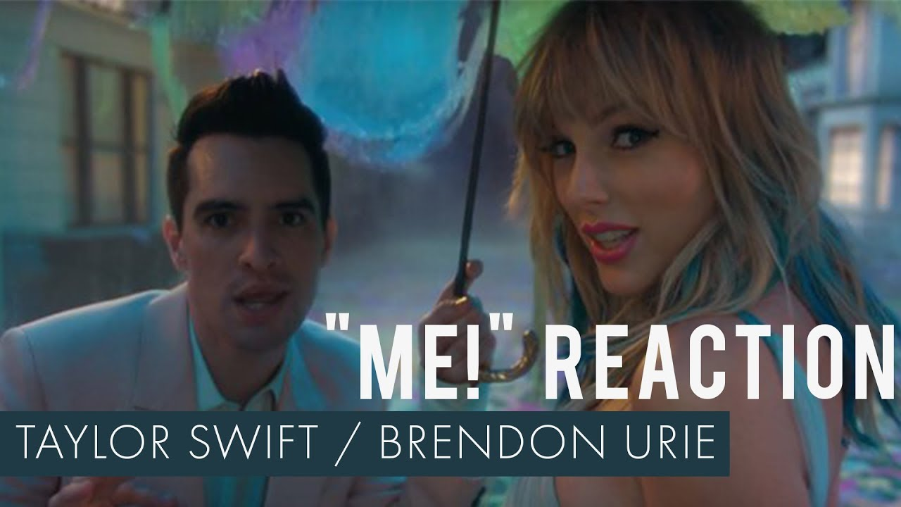 Taylor Swift Me Feat Brendon Urie Of Panic At The