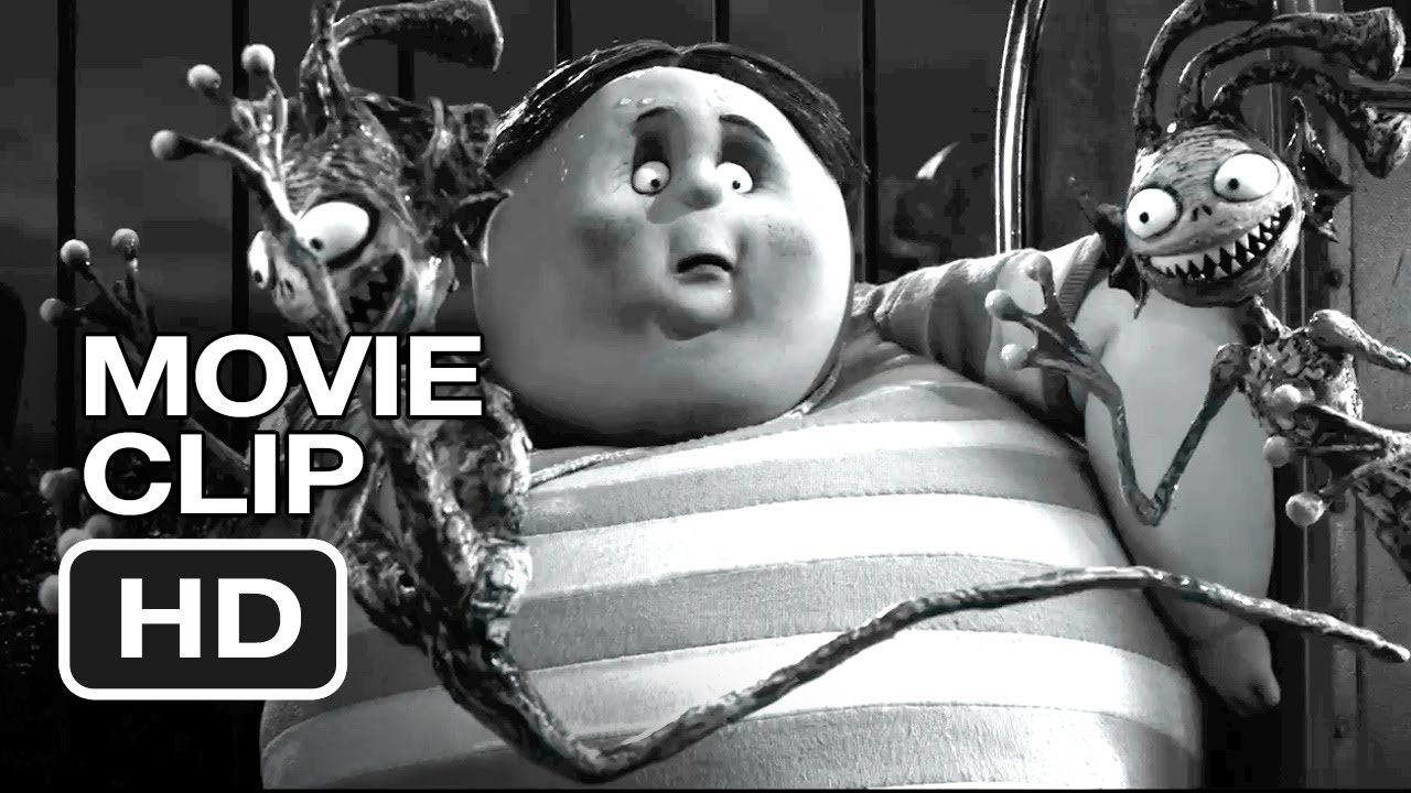 Frankenweenie Movie Clip Bigger Problem 2012 Tim Burton Animated Movie Hd Youtube