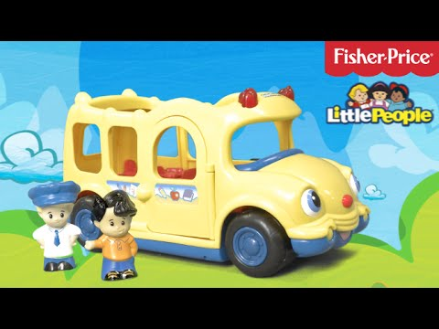 Little People Lil\' Movers School Bus from Fisher-Price - YouTube