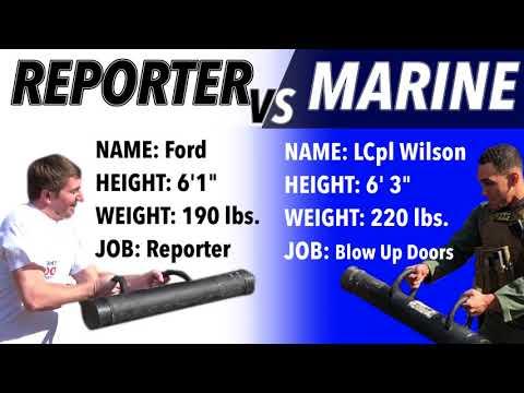 Reporter VS Marine: Door Breach Challenge