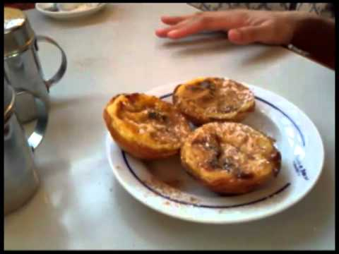 "Josette's Adventures in Portugal - ""Josette tries the famous Pasteis de Belem aka edible orgasm."""