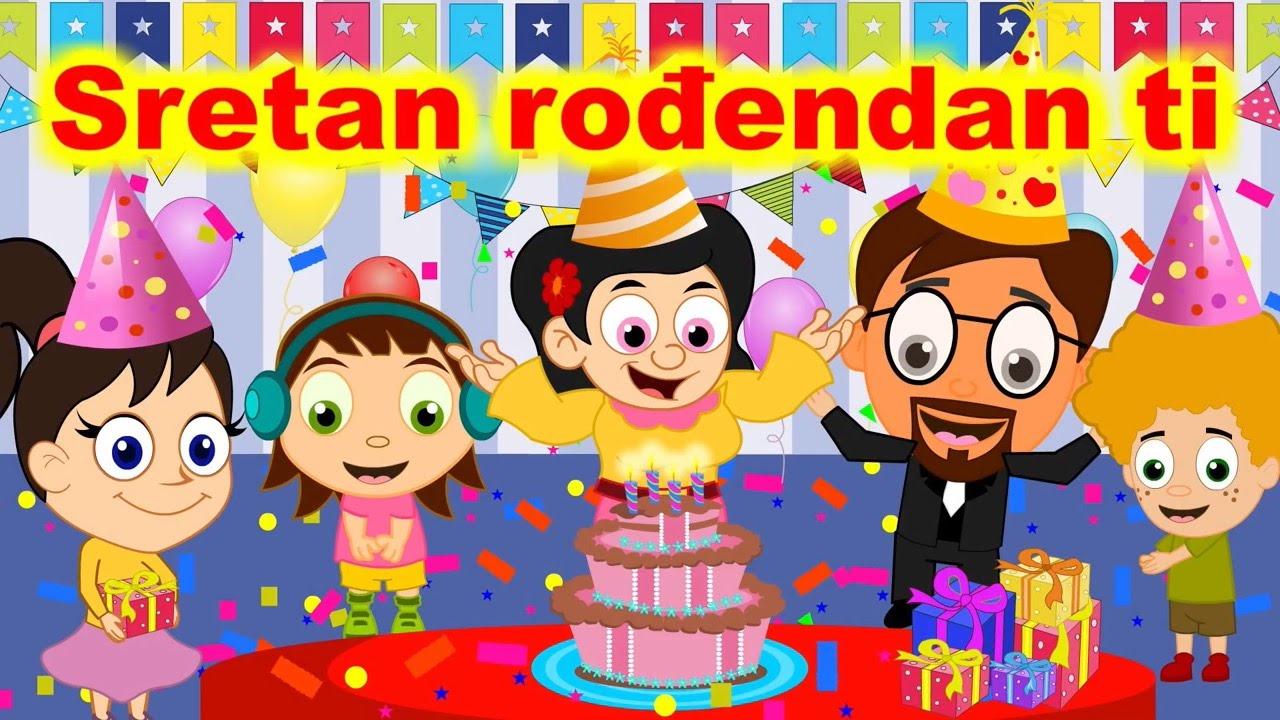 dječje pjesme za rođendan Rođenanski mix | Sretan rođendan ti i druge pjesme   YouTube dječje pjesme za rođendan