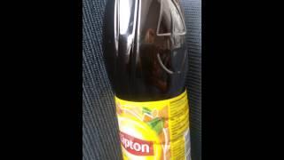 Lipton Ice tea'nin icinde bulunan yabanci maddeler Video