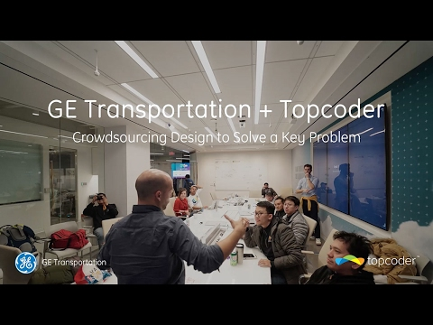 GE Transportation + Topcoder: Crowdsourcing Design to Solve a Key Problem