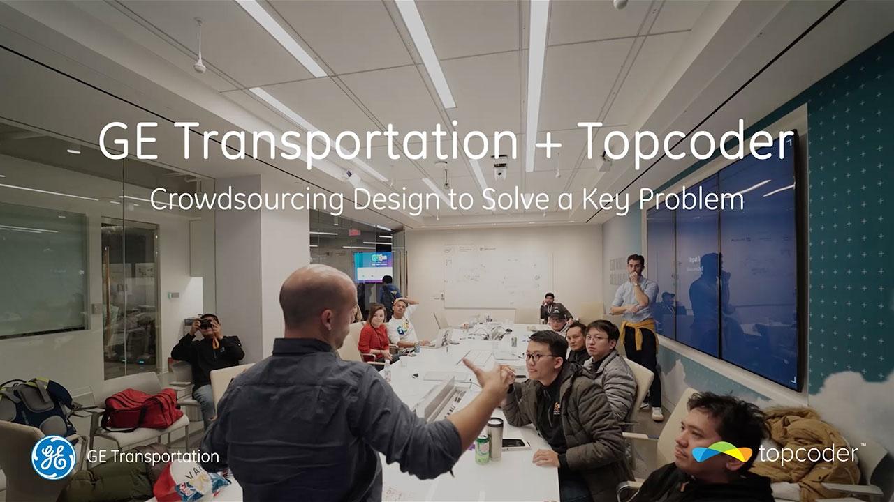 GE Transportation Topcoder Crowdsourcing Design To Solve A Key - Crowdsourcing interior design