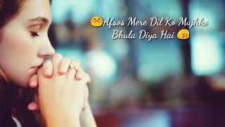 Afsos Mere Dil Ko Mujhko Bhula Diya (female version)