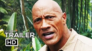 JUMANJI 3: THE NEXT LEVEL Official Trailer (2019) Dwayne Johnson, Kevin Hart Movie HD