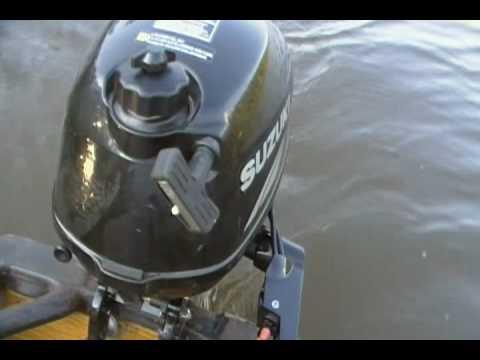 Suzuki df2 5 outboard motor youtube for Suzuki 2 5 hp motor