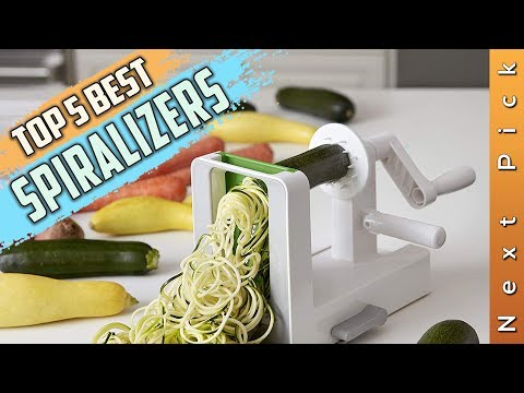 Top 5 Best Spiralizers Review in 2020
