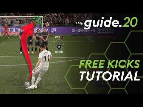 FIFA 20 free kick tutorial: How to score Knuckleball, Top