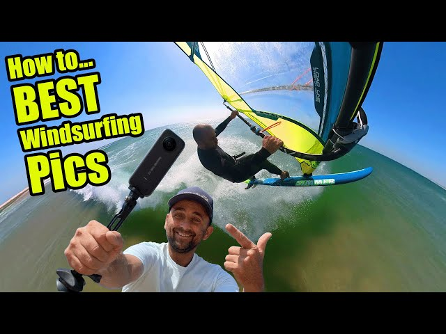 How to Take Great Windsurfing pics/video with just a insta360 & Flymount
