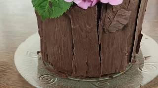Decoração bolo rústico