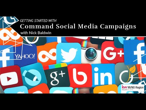 Getting Started with Command Social Media Campaigns