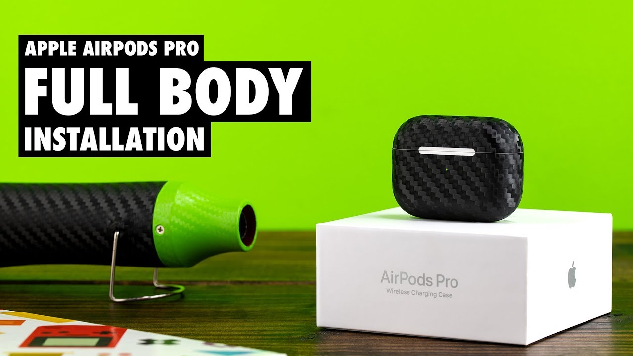 How To Apply A Slickwraps Airpods Pro Skin Youtube