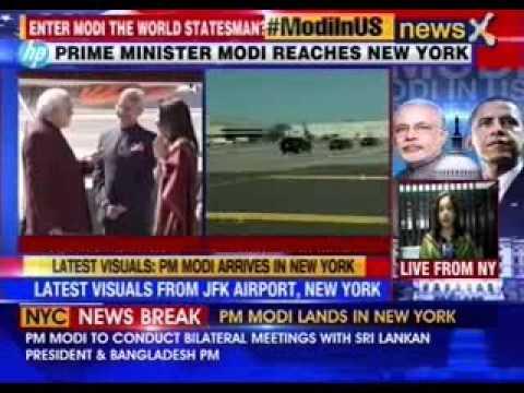 Narendra Modi: Narendra Modi in United States of America