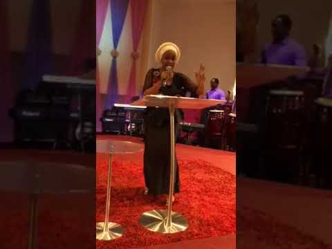 Rev Mrs Kenny Akins.@ COVENANT HOUSE INDIANAPOLIS USA with Pst Fasoore
