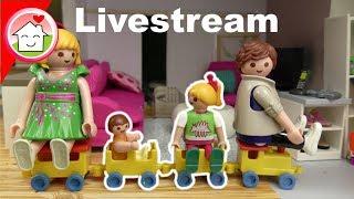 Livestream von Playmobil Familie Hauser ( beendet ) - Kinder Spielzeug Filme