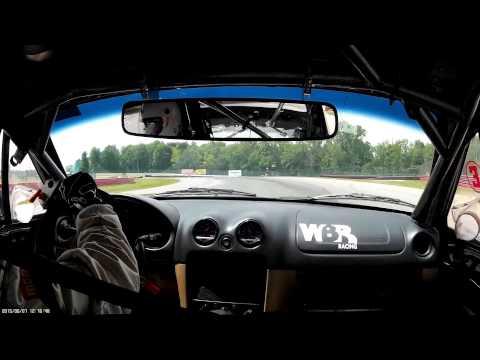 Brad Kitchen Racing at Mid Ohio with NASA June 7, 2015