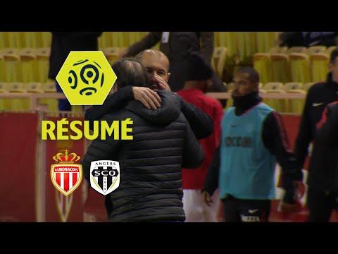 AS Monaco - Angers SCO (1-0)  - Résumé - (ASM - SCO) / 2017-18