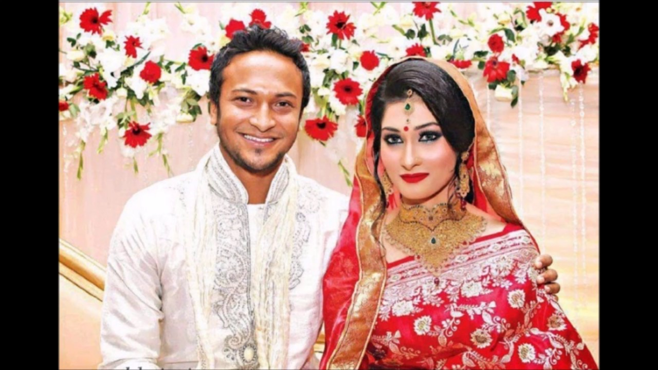 Shakib Al Hasan Marriage Wedding Photos With Umme Ahmed Shishir You