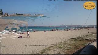 La spiaggia di Marina di Priolo (Siracusa)
