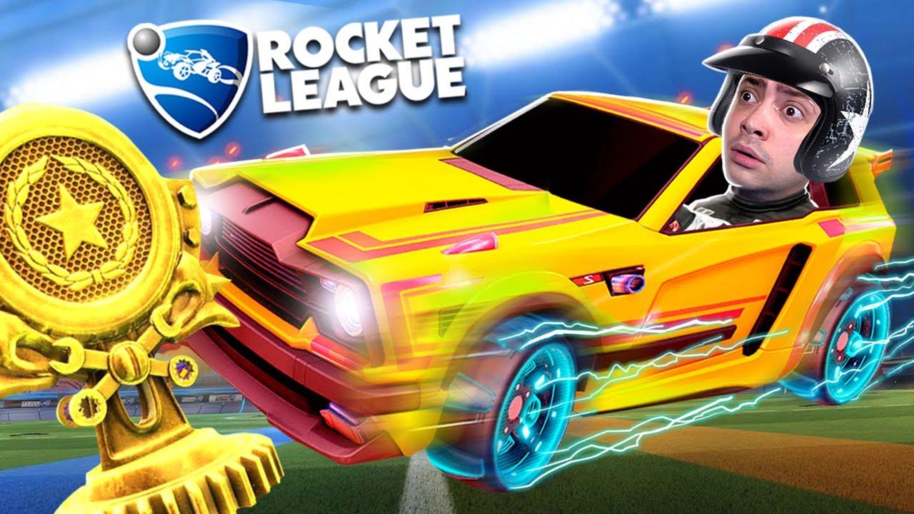 alanzoka quase ganhando o campeonato de Rocket League