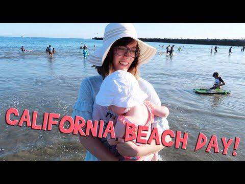 CALIFORNIA BEACH DAY! (Day 594)
