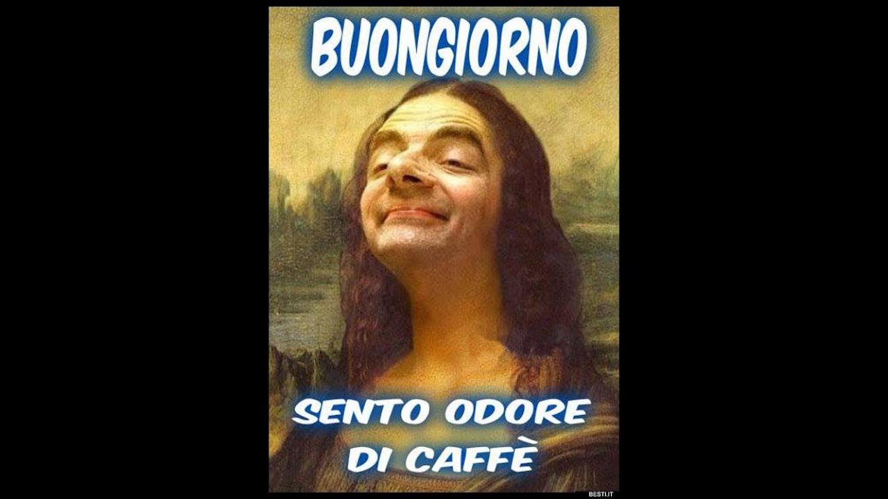 Buongiorno con il caff youtube for Immagini sabato divertenti