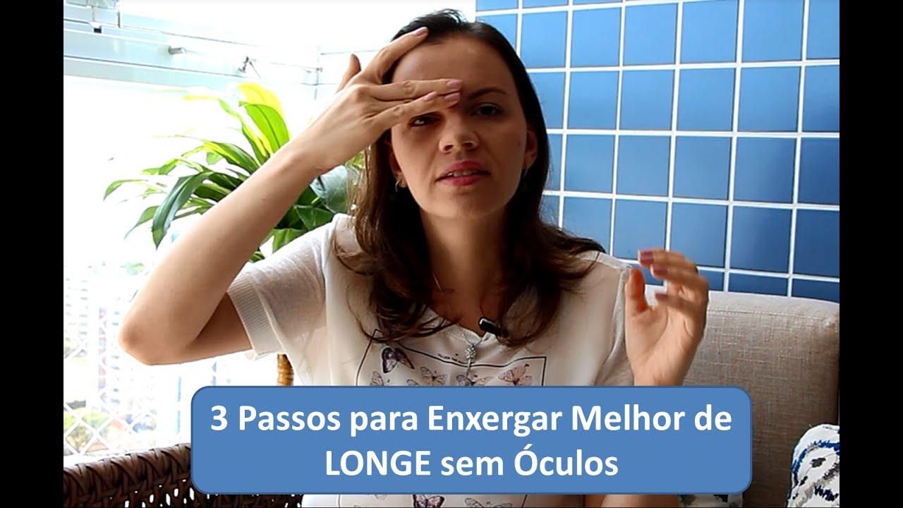 66cf1041576bc Enxergar - 3 passos para ver melhor de Longe sem óculos - YouTube