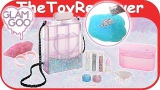 Glam Goo Deluxe Pack Slime DIY Holo Holographic Girls Glitter Unboxing Toy Review by TheToyReviewer
