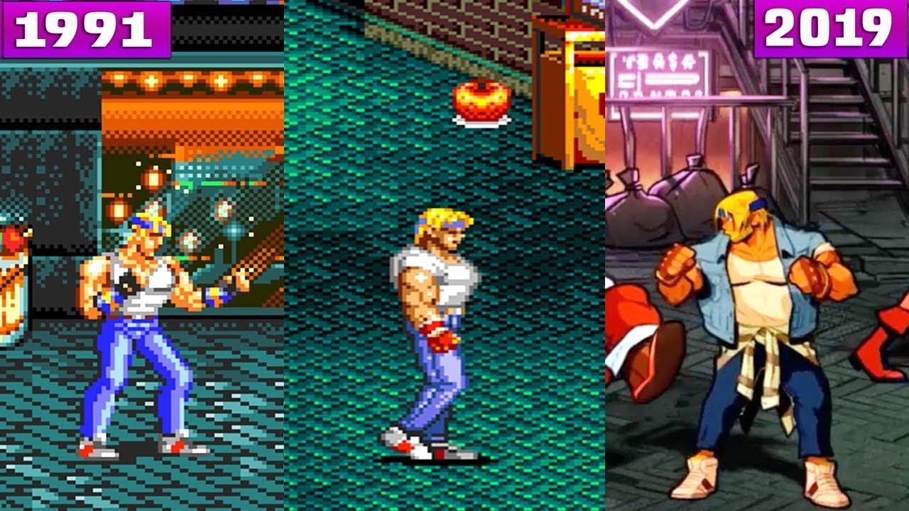 Evolution Of Streets Of Rage Games 1991 2019 Bare Knuckle ベア ナック Rage Game Rage Rage 3