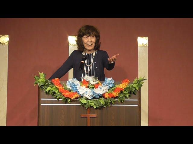 復活の主・松澤富貴子牧師・ワードオブライフ横浜