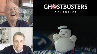 GHOSTBUSTERS: AFTERLIFE - Bill Murray Reacts to the Mini-Pufts