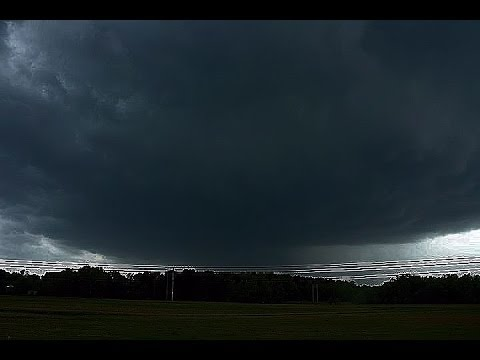 EF3 Tornado Hits Norfolk Southern Train