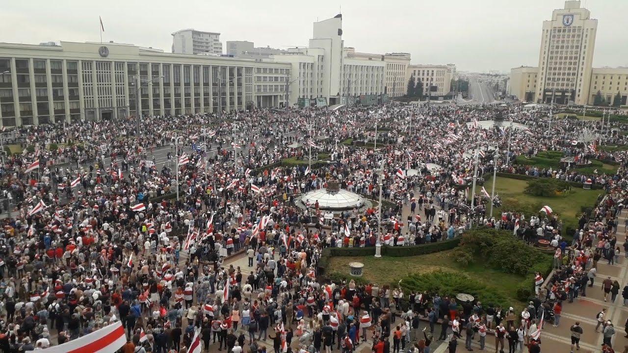 Майдан в Минске