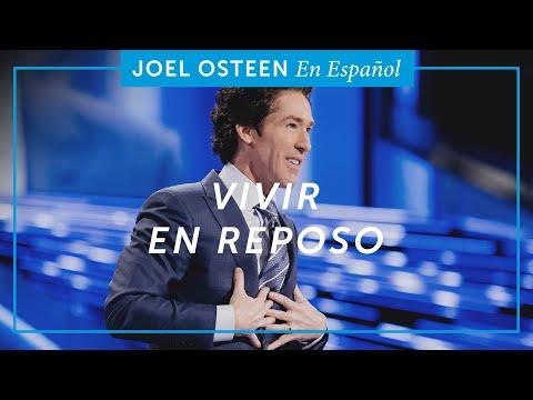 Vivir en reposo   Joel Osteen
