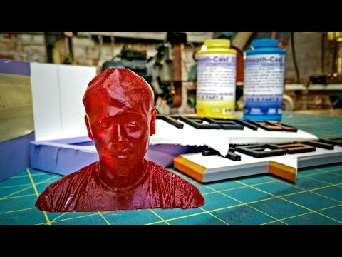 How To Make Resin Copies of 3D-Printed Figures