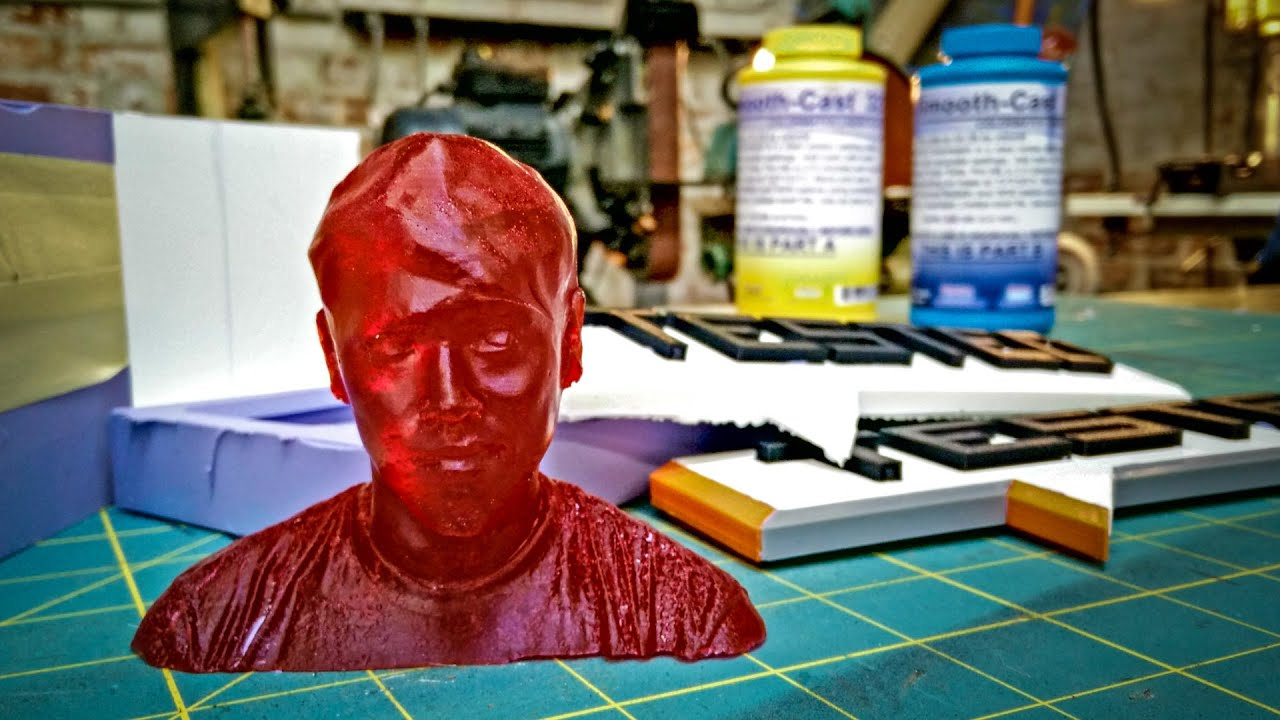 How To Mold and Cast Resin Copies of 3D-Printed Figures - Tested