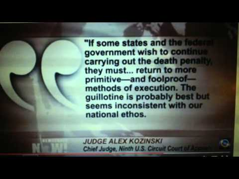 Excruciating execution of Joseph Wood: death penalty's cruelty