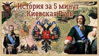 История за 5 минут. Киевская Русь.