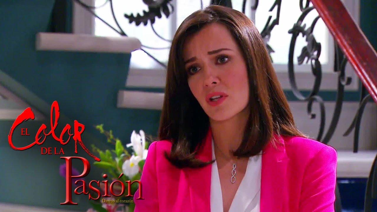 Download El Color de la Pasión | Daniela le dijo a Lucía que Marcelo la embarazó