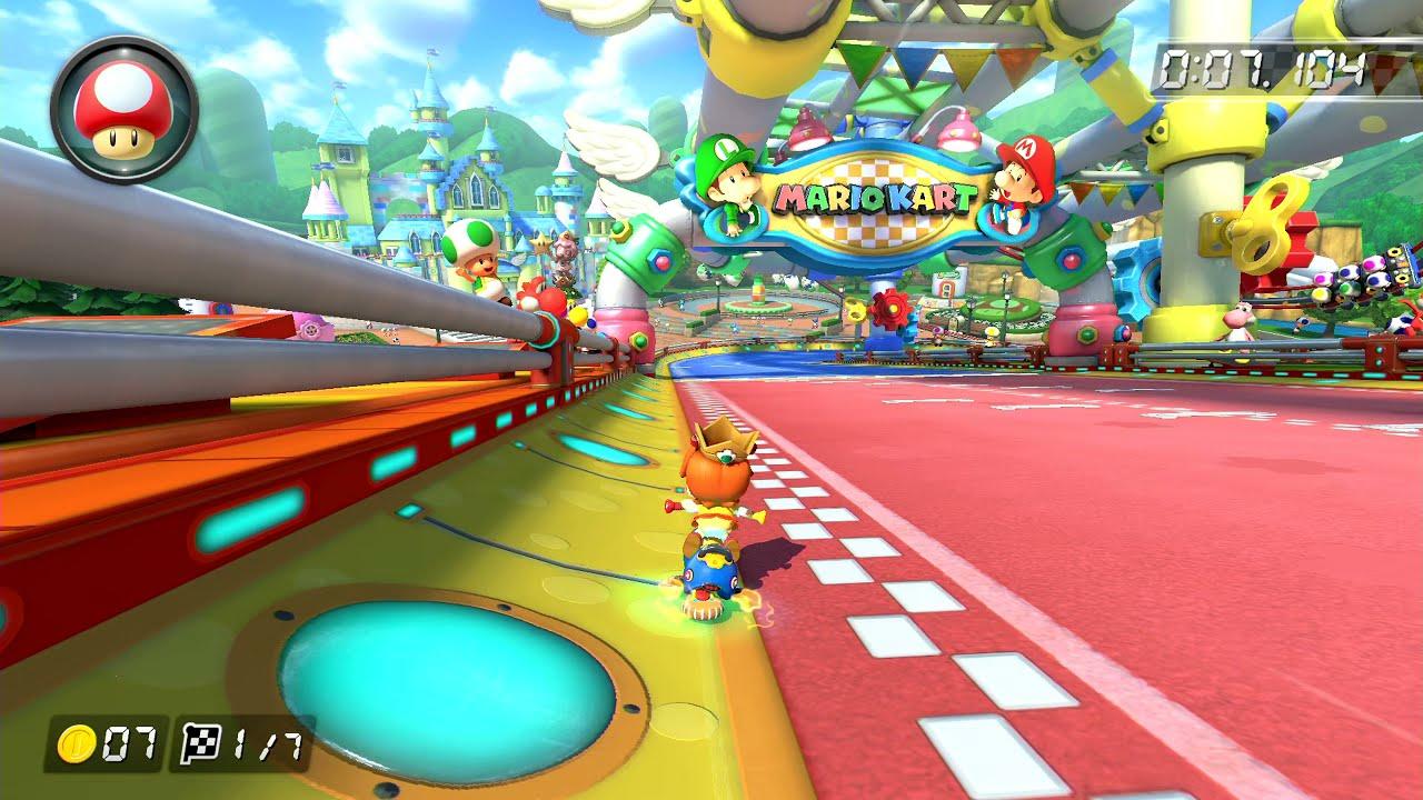 GCN Baby Park [200cc] - 0:44.833 - EternalX (Mario Kart 8 Deluxe World Record)