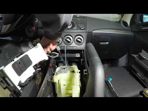 Replacing Blower Motor in a 2010 - 2013 Mazda 3 Part 2