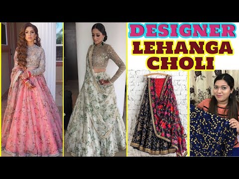 Designer Georgette Lehanga Choli at Low Price ll Online Shop ll 18 Oct 2018