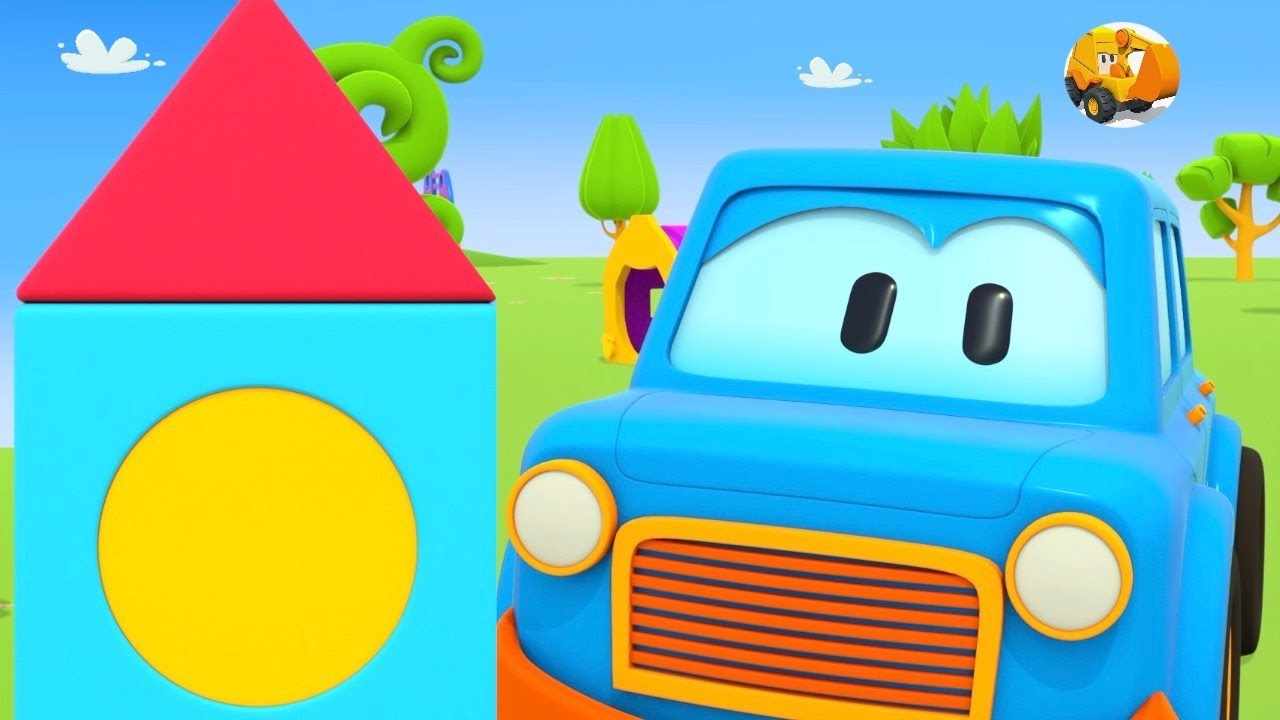 Videos educativos infantil - Formas y colores para niños - Coches Inteligentes