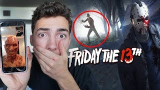 (HES REAL) CALLING FREDDY KRUEGER ON FACETIME ON FRIDAY THE 13TH // FREDDY CAME AFTER US!